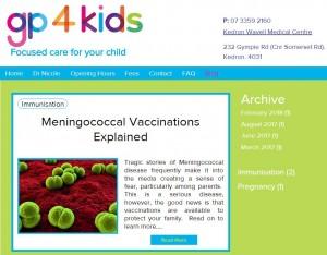 A Blog by Dr Nicole White, GP4Kids